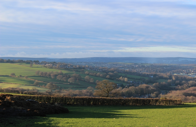 Green belt land to the east of Dronfield