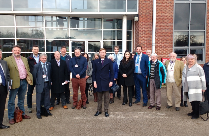Lee Rowley MP, Conservative Councillors and Green Belt Campaigners