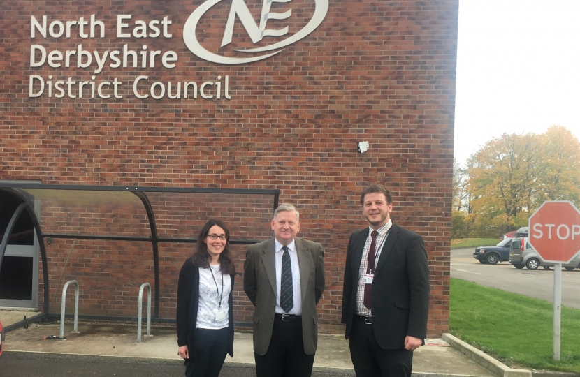 Cllrs Charlotte Cupit, Martin Thacker and Alex Dale